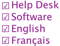 Bilingual Technical Support for Software Company (EN+FR)