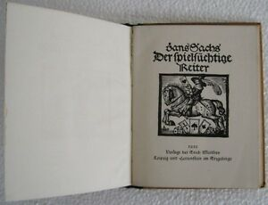 1925-SANS-SACHS-DER-SPIELIUCHTIGE-TREITER-WOODCUTS-in-OLD-GERMAN-BOOK