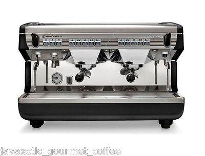 Nuova Simonelli Appia Ii Volumetric 2 Group Commercial Espresso Machine On Sale
