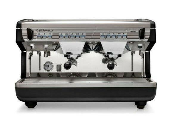 SIMONELLI APPIA II VOLUMETRIC 2 GROUP COMMERCIAL ESPRESSO MACHINE ON SALE!!!