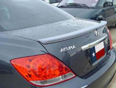 Lip Mount Spoiler - Acura RL Lip Mount Rear Spoiler / Wing 2005-2008 - DAR FG-291 Painted