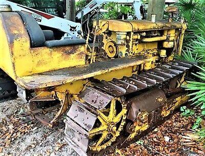 Caterpillar D2 Crawler Dozer Tractor Ie- Cat 3j 5j 4u 5u Skid Steer