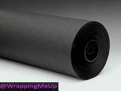 Black Paper Tablecloths (15' x 2' -Chalkboard Black Kraft Paper Roll, #50lb Writeable Table-Cloth)