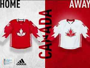 CANADA 2016 WORLD CUP OF HOCKEY JERSEYS PRICE / CROSBY NWT /
