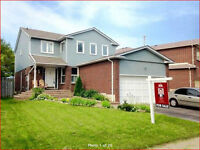 4+1 BEDROOMS DETACHED WITH INCOME HOME IN AJAX