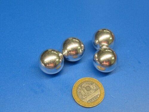 """Aluminum Hollow Balls 3/4"""" (.750"""") diameter 10 pieces"""