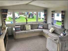 2018 Stunning New Abi Trieste Caravan by the Beach in Newquay Cornwall
