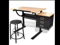 Drawing desk and table