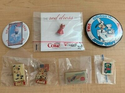 Coca Cola Collectible Pins (Set of 7)