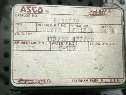 Asco Red Hat Cat.# 8210B20  NNB