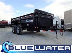 "2018 Load Trail Tandem Axle Dump w/6"" Channel Frame 9,990 Lb - 7"