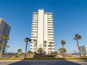 Daytona Beach Ocean Front Two Bedroom Two Bathroom Condo