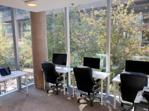 Furnished Modern Office Space, Downtown, Cheap