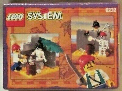 LEGO Pirates 6232 Skeleton Crew 1996 Vintage Sealed in Box - New Minifigures
