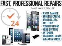 All Apple iPhones and iPads repairs.