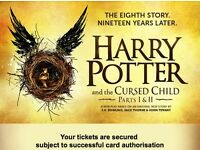 Harry Potter & the Cursed Child - 1 ticket, parts 1&2, Aug 18th & 19th 2016, Grand Circle