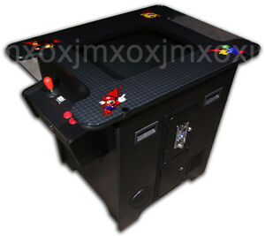 COCKTAIL-ARCADE-MACHINE-60-GAMES-IN-1-COFFEE-TABLE-TOP-games-room-man-cave-NEW