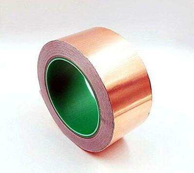 Hobbyunlimited Copper Foil Tape With Conductive Adhesive 2inch X 27yards -