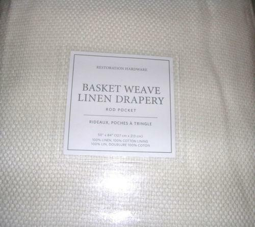 Restoration Hardware Ebay: Restoration Hardware Linen Drapes