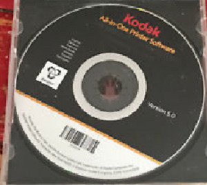 Kodak All-in-One Printer Software (Windows+MacIntosh O/S)