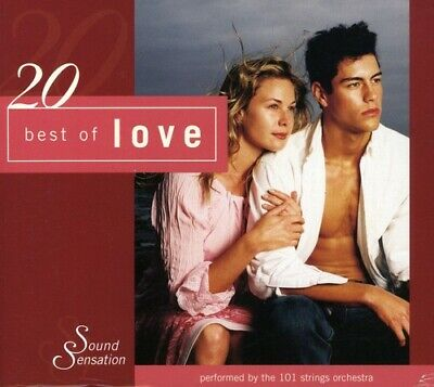 101 Strings Orchestra : Best of Love Easy Listening 1 Disc -