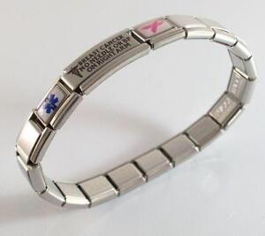 Medical Alert Bracelet Charms