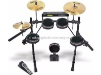Alesis DM5 Pro Electronic Drum Kit w/ Surge Cymbals w/ Mapex 500 Series Double Drum Pedal