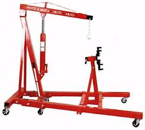 BRAND NEW 1 Ton Folding Engine Crane with 900kg Engine Stand Beenleigh Logan Area Preview