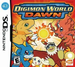 Nintendo Digimon Worl Dawn Game Card funktioniert mit DS, DS Lite, DSi, 3DS