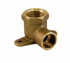 Drop Ear Elbow 5/8 Inch Female Threaded x 3/4 Inch