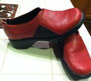 Red Dansko Clogs