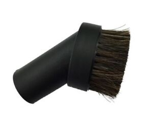 Vacuum Cleaner Dust Dusting Brush Attachment Tool Black Natural Soft Bristle