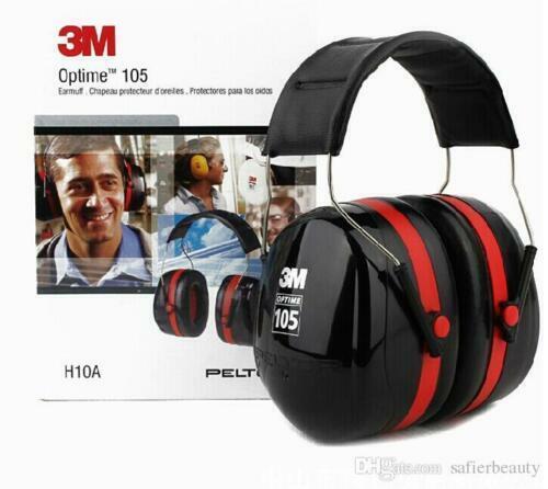3M H10A Peltor Optime 105 Over-the-Head Earmuffs