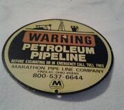 Marathon Oil Sign