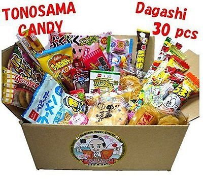 Japanese Assorted Sweet Candy Dagashi Snacks Choice Of 22Pc  30Pc Or 34Pc