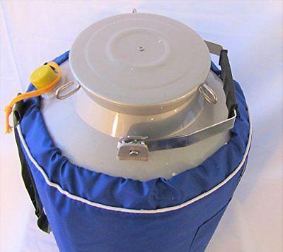 10l Liquid Nitrogen Ln2 Storage Tank Container Cryo Dewar Wide Mouth 5 Neck New