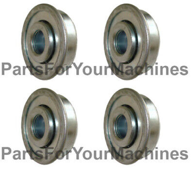 4 Flange Ball Bearings 1-18 Od X 38 Id Some Wagons Toys Rock Tumblers
