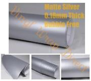 Silver Vinyl Wrap