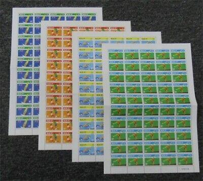 nystamps Macao Stamp # 829-832 Mint OG NH $165  L23y3398