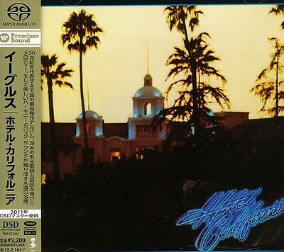 The Eagles   Hotel California  New Sacd  Japan   Import