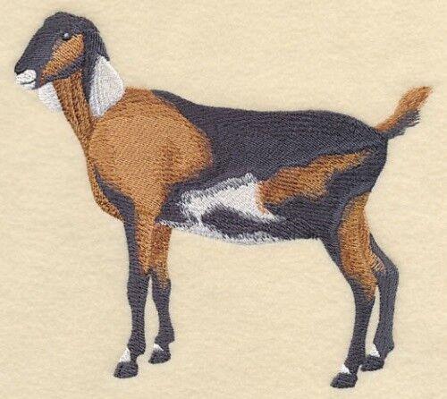 Embroidered Fleece Jacket - Nubian Goat #1 J7272 Sizes S - XXL
