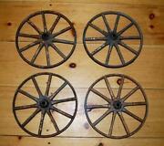 Vintage Metal Wheels