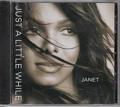 Janet Jackson Just A Little While Rare 5 Track Promo Dj Cd Single 04