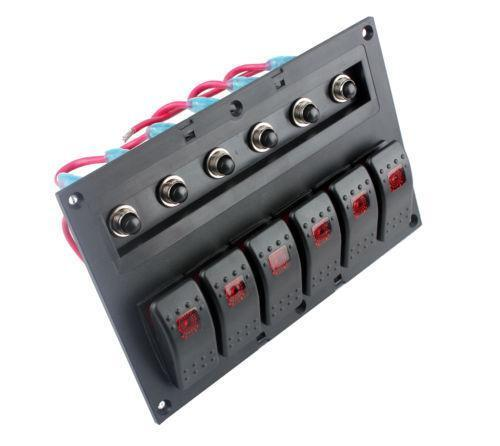 lighted rocker switch rocker switch panel