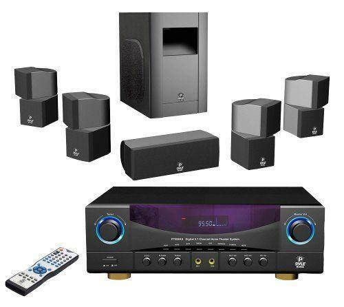 surround sound system ebay. Black Bedroom Furniture Sets. Home Design Ideas