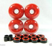 Red Skateboard Wheels