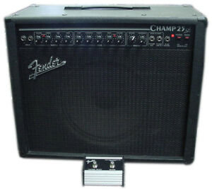 Fender Champ 25SE tube guitar amp