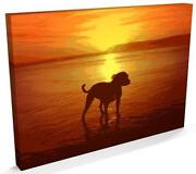 Staffordshire Bull Terrier Canvas