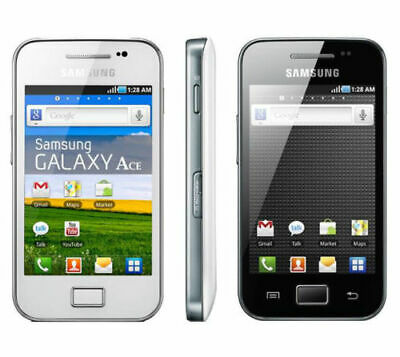 Samsung Galaxy Ace White/Black S5830i Andriod Unlocked Mobile Phone