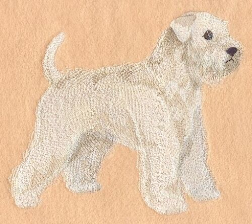 Embroidered Fleece Jacket - Wheaten Terrier C9628 Sizes S - XXL